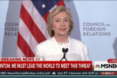 Clinton outlines plan for fighting ISIS