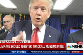 Trump endorses tracking Muslims in US