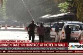 Gunmen take 170 hostage at Mali hotel