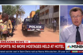 Six Americans safely evacuated hotel