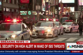 US on high alert after ISIS threats