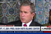 When Bush went to an Islamic Center