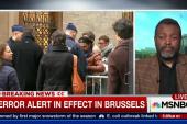 Terror alert in effect in Brussels