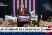 Donald Trump: 'I want surveillance'