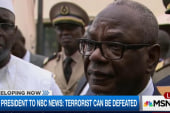 Mali president: Terrorists can be defeated