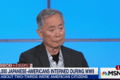 Takei: Same 'hysteria' from WWII applies now