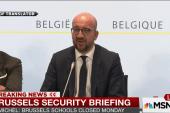 Brussels remains at highest alert level