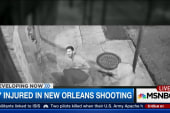 Manhunt underway for New Orleans shooter