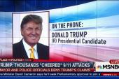 Trump: Thousands 'cheered' 9/11 attacks