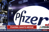 Pharma giants merge