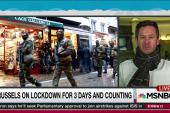Anticipating terror, Brussels on lockdown