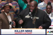 Rapper 'Killer Mike' endorses Bernie Sanders