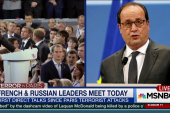 French and Russian leaders meet today