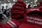 Inside Donald Trump hat factory