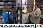 Shoppers indulge in Small Business Saturday