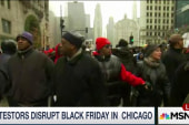 Protesters disrupt Black Friday in Chicago