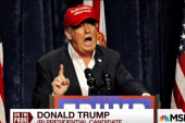 Trump on rhetoric towards Muslims
