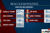 Trump slams Christie on campaign trail