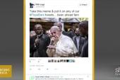 #Popebars trends on Twitter