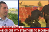 One-on-one with eyewitness to shooting