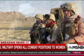 US opens all combat positions to women