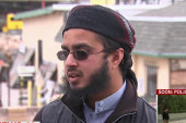 Congregant from Farook's Mosque reacts