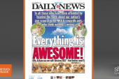 NY Daily News defends its cover