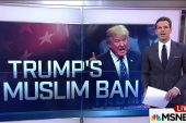 Donald Trump defends ban on Muslims to U.S.
