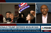 Trump: Muslim ban is 'common sense'