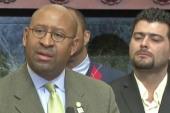 Trump and Philadelphia Mayor clash