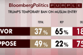 Republicans back Trump's Muslim ban: polls