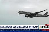 Qatar Airways still considers Trump a friend