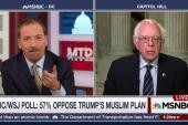 Sanders Rips Trump's Call to Bar Muslim...