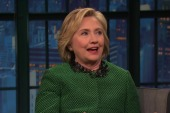 Hillary Clinton says Trump no longer funny
