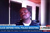 LA police defend fatal shooting