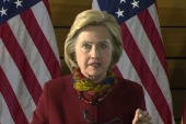 Clinton discusses terrorism on campaign trail
