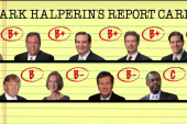 Mark Halperin scores the debate