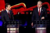 Bush aggressive in debate, was it enough?