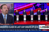 Bush and Trump spar in GOP debate