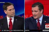 GOP candidates split on nation building