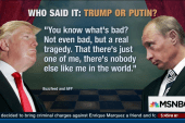 Who said it: Putin or Trump?