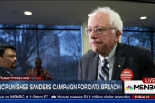 DNC Chair suspends Sanders' access to...