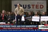 Cruz, Rubio trade jabs over immigration