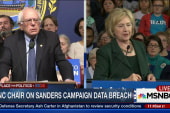 DNC Chair on Sanders campaign data breach