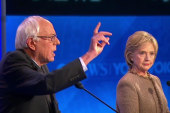 Sparks fly at Democratic debate in NH