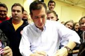 Ted Cruz ahead of Donald Trump in Iowa polls