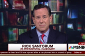 Santorum: Guns are not the problem
