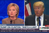 Should Hillary Clinton apologize to Trump?