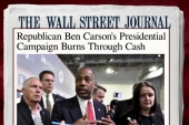 Carson campaign burning through cash: report