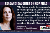 Reagan's daughter: Dad would be 'appalled'